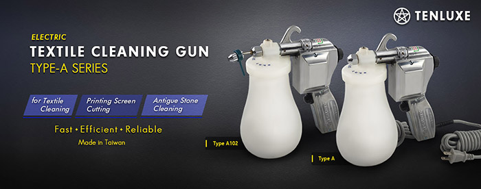 Textile Cleaning Spray Gun A- Tenluxe products